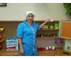 Няня / Уборщица в детский сад