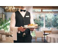 Требуются официанты в ресторан