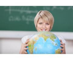 Требуется учитель географии