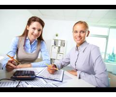 Требуется в ТОО помощник с опытом бухгалтера.