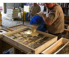 Требуется заливщик в компанию по производству литьевого камня.