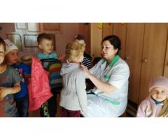 Помощник воспитателя в детский сад