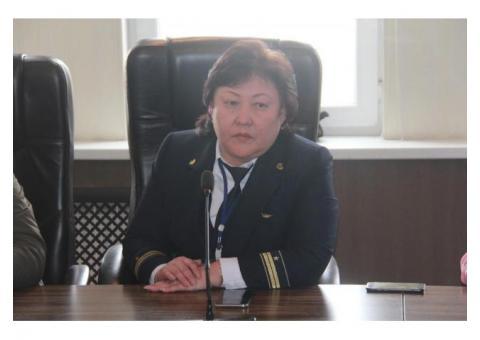 Начальник станции Фурмановская 5 класс НОДГП-2 Костанай